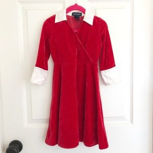Ralph Lauren Toddler 2T Red/White Christmas Dress